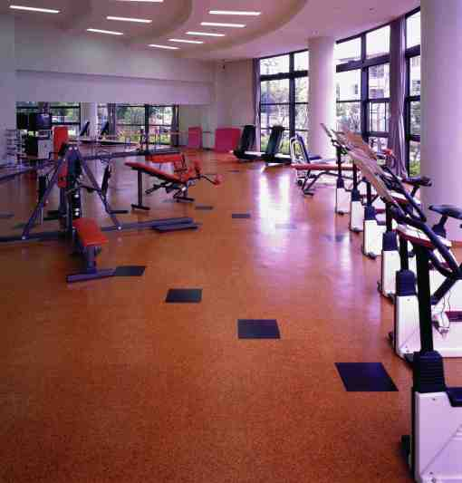 Wicanders Cork Oak Flooring is perfect for gym floors